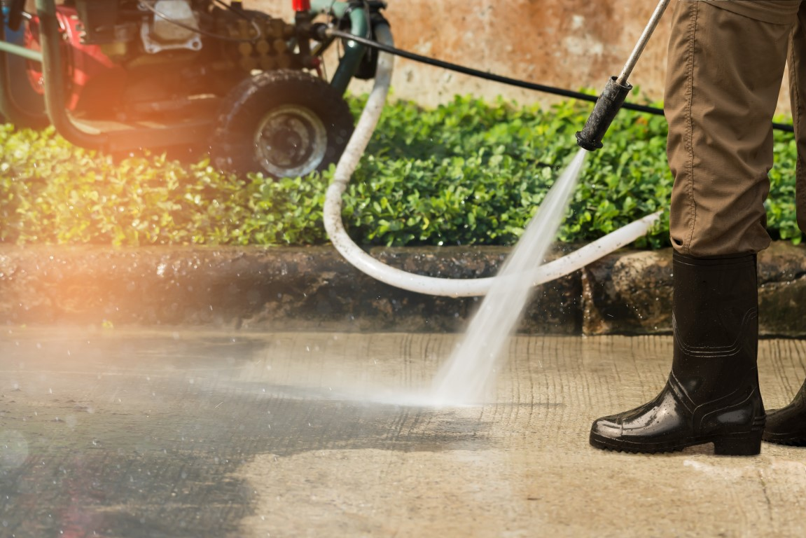Pressure & Power Washing | Brookstone Services | Facilities